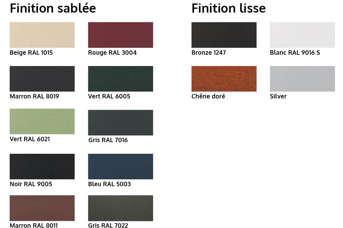 armen les coloris pour fen tres baies vitr es et menuiseries en alu. Black Bedroom Furniture Sets. Home Design Ideas